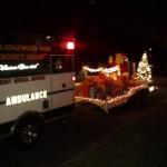 Santa and rig