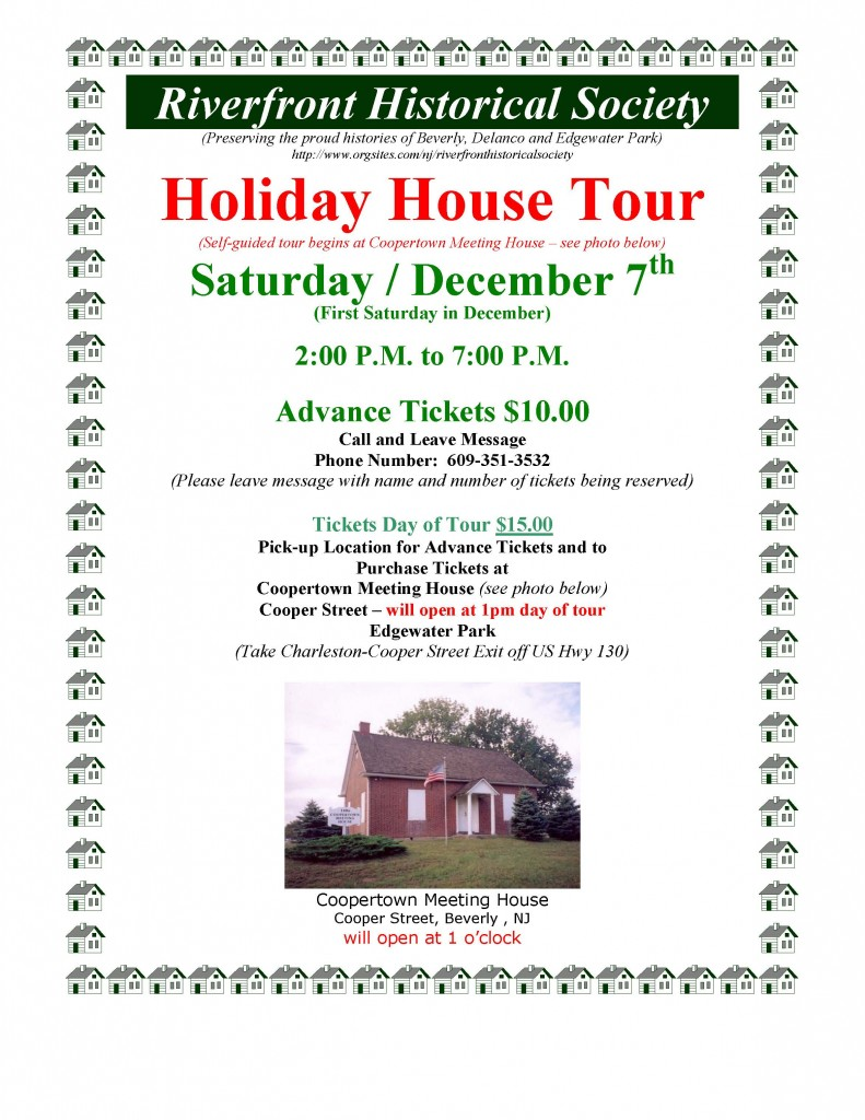 Riverfront Historical Society - 2013 Holiday Tour